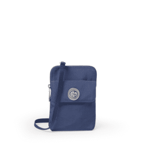 Baggallini Lima RFID Mini Bag Indigo Sky Front min