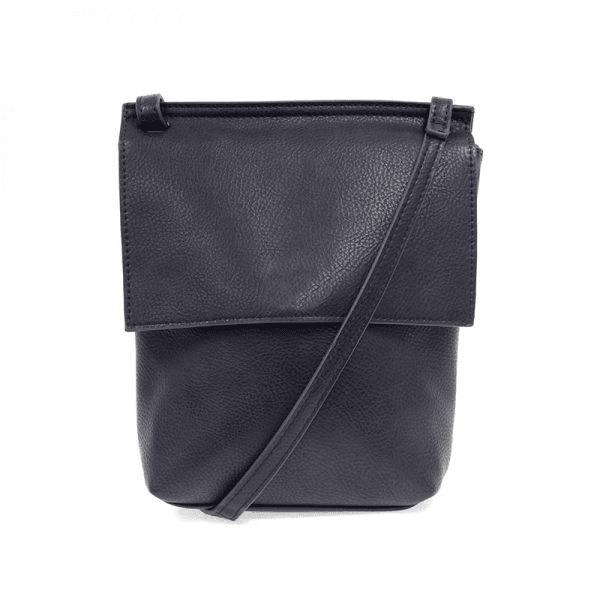 Joy Susan Aimee Front Flap Crossbody Bag Navy Main-min