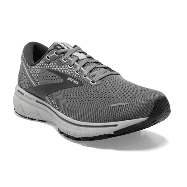 Brooks Ghost 14 Mens Grey Oyster Main min