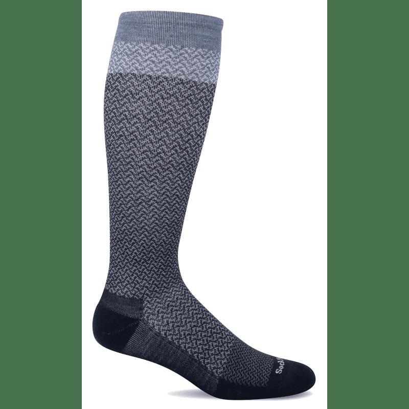 Sockwell Full Twist Wide Calf Navy-min