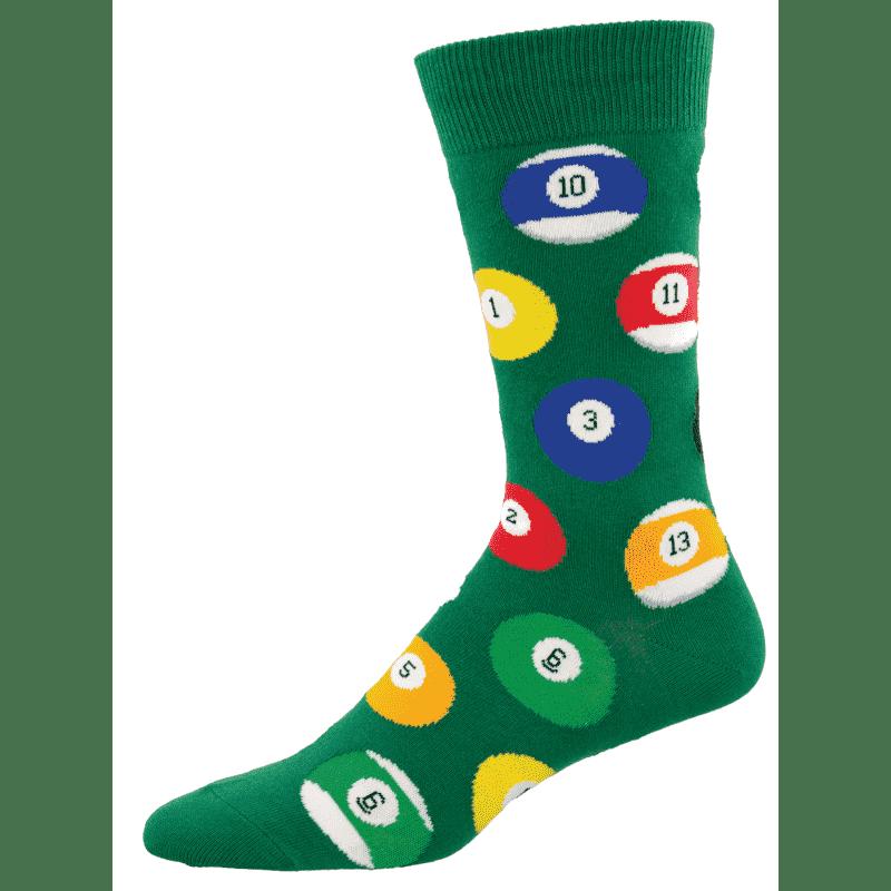 Socksmith Billard Balls Green-min