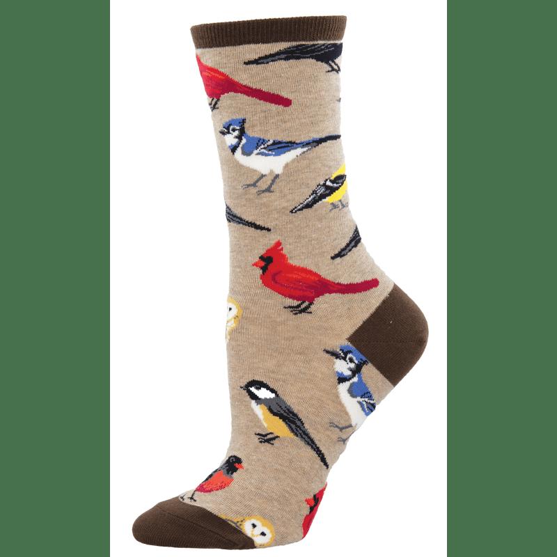 Socksmith Bird Is The Word Hemp Heather-min