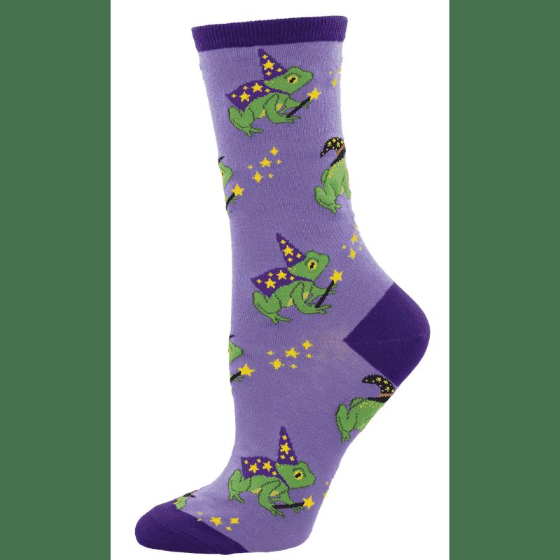 Socksmith Freaky Frogs Purple-min